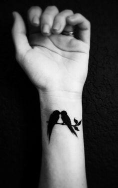 Lovebird Tattoo