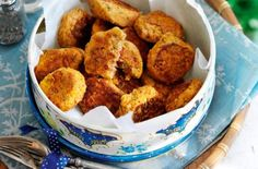 Roasted red pepper and chive falafels recipe - goodtoknow