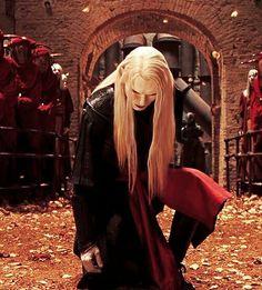 Luke Goss as Prince Nuada (Hellboy & The Golden Army) Hellboy The Golden Army, Science Fiction, Prince, Idol, Steampunk, Dark Elf, Cinema, Comic Movies, Thranduil