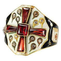 Masonic Knights Templar Ring