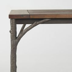 Might Be A Nice Table For MaryFamily Tree Picture Display At - West elm table legs