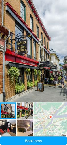 Du Vieux Quebec (Quebec City, Canada) – Book this hotel at the cheapest price on sefibo.