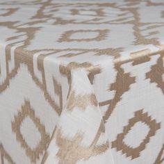 Baylis Aztec | Color: Gold - La Tavola Fine Linen