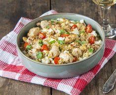 Quinoa, Potato Salad, Cauliflower, Food And Drink, Potatoes, Vegetables, Ethnic Recipes, Anna, Bulgur