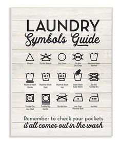 Loving this 'Symbols Guide' Wall Art on #zulily! #zulilyfinds