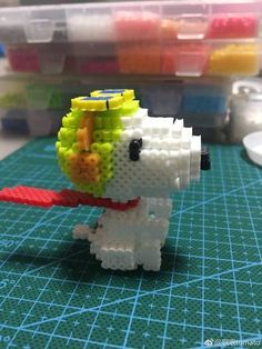 Hama Beads, 3d Perler Bead, Fuse Beads, Hama Art, Diy And Crafts, Arts And Crafts, 3d Figures, Iron Beads, Perler Patterns