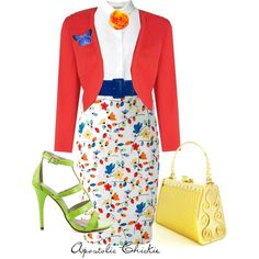 """""""Spring Fling"""" by apostolicchickie on Polyvore"""