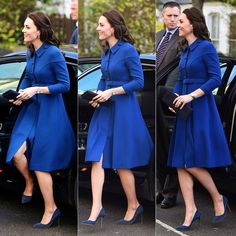 11 January 2017 Here come the Duchess... . Kate arrived at an early years centre run by the Anna Freud National Centre for Children and Families in Finsbury Park. It was her first official engagement in 2017.