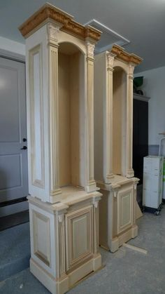 Mantel Surround by Probuilt Woodworking LLC  Macomb, Michigan pinned with Pinvolve