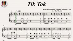 Tik Tok - Kesha, Piano https://youtu.be/Q373OWB5z3M