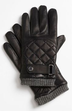 Polo Ralph Lauren Quilted Gloves | Nordstrom for my husband
