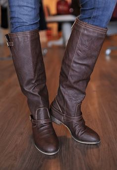 Dottie Couture Boutique - Outlaw Boot- Brown, $54.00 (http://www.dottiecouture.com/outlaw-boot-brown/)