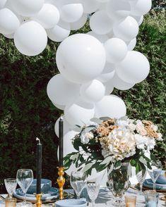 Wedding organic balloon arch Wedding Balloons, Balloon Arch, Organic, Table Decorations, Home Decor, Decoration Home, Room Decor, Home Interior Design, Dinner Table Decorations