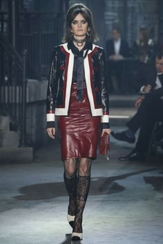 A sneak peak in to what will be trending this coming fall 2016. On the Chanel runway there has been a lot of leather, lace and sheer fabrics. Be sure to see this on young adults adventuring out for a night out on the town, or maybe going to work with an edgy style. K Doane.