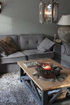 Black And White Interior, Gray Interior, Interior Design, Country Cottage Living Room, Piece A Vivre, Cozy House, Interior Inspiration, Living Room Designs, Sweet Home