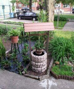 Comment réaliser un puits artificiel pour la décoration de votre ...