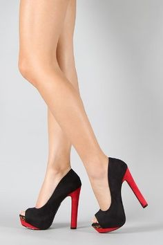 Shoehorne Rainer - Womens Black & Leopard ColourBlock Peeptoe Heels Red Stiletto High Heeled Platform Court Shoes - Avail in Ladies Size 3-8 UK Shoehorne, http://www.amazon.co.uk/dp/B009399S02/ref=cm_sw_r_pi_dp_pkV7qb17YVBPQ