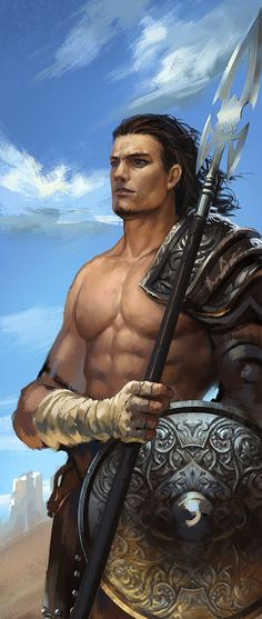 Kaladin by zippo514.deviantart.com on @deviantART  <---- Pardon the shirtlessness...