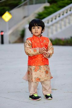 Coco couture Boys Kurta Design, Baby Boy Dress, Baby Boy Outfits, Kids Outfits, Kids Indian Wear, Kids Ethnic Wear, Indian Baby, Boys Wear, Baby Boy Fashion