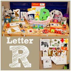 Home# Preschool Letter R