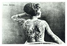 Irma Senta, early 20th century.
