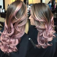The balayage technique was still very present in 2016, but this time we saw a little more color and a little less blonde ombré. | 17 Hair Trends That Made 2016 Colorful AF