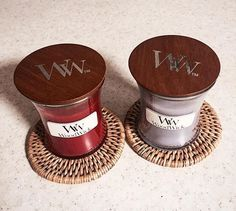 La référence de la bougie avec Mèche en bois! WoodWick a tester absolument! (photo instagram : @_anggellaa_)