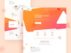 Landing page for a company that specialises in amusement park Kiosks and POS. Are you game? Show us some love :) -------------------------------------------------------------- More projects at h...