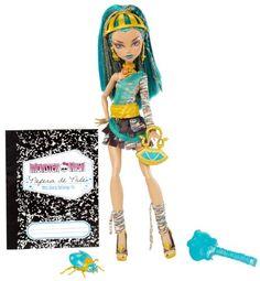 Mattel X4632 - Monster High, Bambola Nefera Monster High…