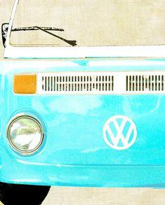 VW Bus Volkswagon - 8 x 10 art photography print by Dawn Smith. Volkswagen, Vw Bus, Used Electric Cars, Vintage Dinnerware, Custom Art, Wall Art Prints, Art Photography, Dawn, Vroom Vroom