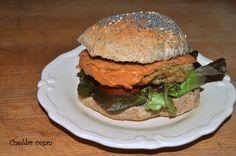 Burger au quinoa et brocolis