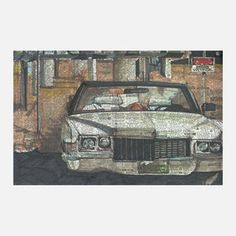 Convertible Print Ltd Ed 24x16 now featured on Fab.