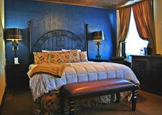 The historic Holland Hotel, the preeminent Big Bend hotel, is the heart of downtown Alpine. Holland Hotel, Texas, Boutique, Bed, Furniture, Home Decor, Decoration Home, Stream Bed, Room Decor