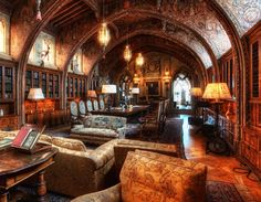 http://onebigphoto.com/william-randolph-hearsts-private-library/