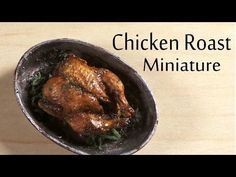 Roast Miniature Chicken - Polymer Clay Tutorial - YouTube