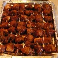 Bacon Wrapped Chicken Appetizer Recipe