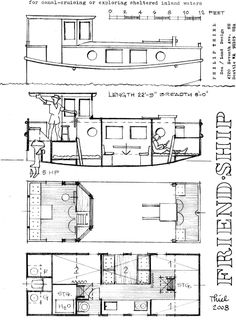 Harry Bryan& shanty boat is sweet, but Boat Building Plans, Boat Plans, Trailerable Houseboats, Camper Boat, Shanty Boat, Build Your Own Boat, Boat Projects, Diy Boat, Wood Boats