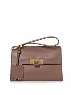 Le Dix pochette leather clutch | Balenciaga | MATCHESFASHION.COM