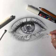 16 ideas eye tattoo crying pictures for 2019 Sketch Tattoo Design, Tattoo Sketches, Tattoo Drawings, Drawing Sketches, Tattoo Designs, Cry Drawing, Crying Eyes, Eye Pictures, Crying Pictures