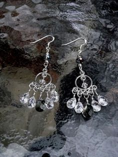 Genuine Swarovski Crystal and Sterling Silver by IslandGirl77, $23.99