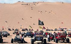 I want to go to the silver lake sand dunes in a buggy.