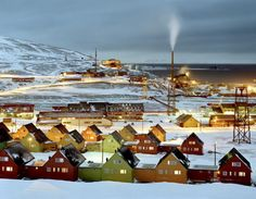 Longyearbyen, Svalbard (by Kevin Cooley)
