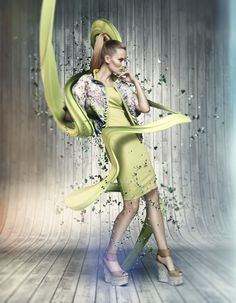 AIRFIELD FASHION by Mike Campau, via Behance