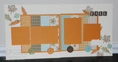 Jill's Card Creations: scrap pages