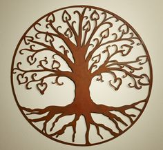 Tree of Life with Hearts by Elizabeth Keith Designs | Sticks Furniture, Home Decorative Accents