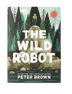 "The Wild Robot by Peter Brown    Ages: 8+    Plot twists and turns in this tale of a robot who washes up on an island inhabited only by animals kept kids in suspense. ""You'd think one thing was going to happen, but then the opposite happened,"" says a 9-year-old."