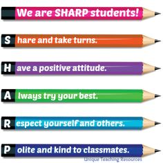 We Are S.H.A.R.P. Students!