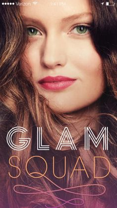 Love this!!!!! I just. don't. have. time. to go to the salon. Now they can come to me.  GLAMSQUAD iPhone App