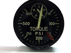 Torque Pressure Indicator US Gauge Type A-9 A-1H Skyraider, C-130 Hercules