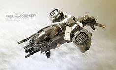 Lego Sci-Fi Gunship